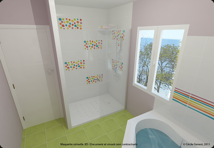 Best Deco Salle De Bain Colore Pictures  Design Trends