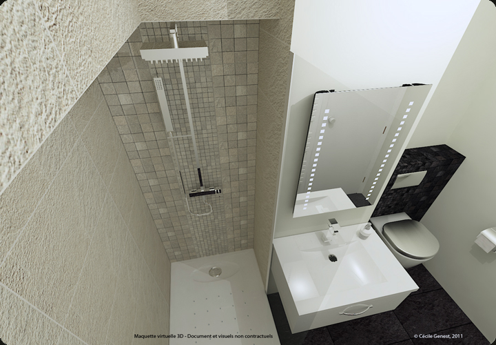 Amenagement salle de bain 3d images for Amenagement salle de bain 3d