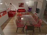 3d projet deco nos simulations 3d de cuisines salons et salles manger. Black Bedroom Furniture Sets. Home Design Ideas