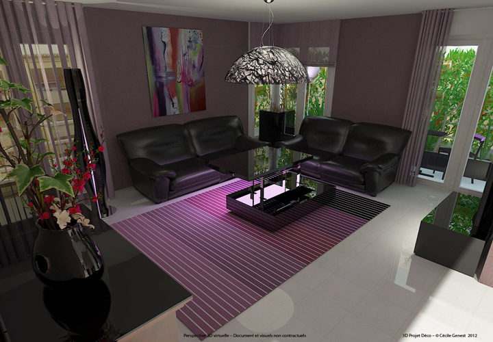 simulation deco salon cool simulation decoration salon. Black Bedroom Furniture Sets. Home Design Ideas